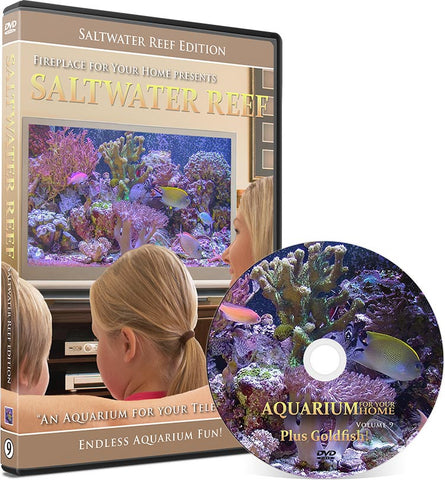 Aquarium For Your Home Presents: Saltwater Reef DVD Disc #9