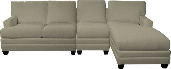 Loft 3 Seat Chaise Sectional - Right
