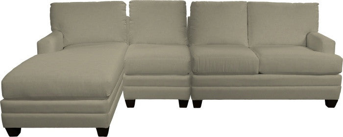 Loft Left Chaise 3 Seat Sectional