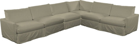 Urban Slipcovered Sectional III
