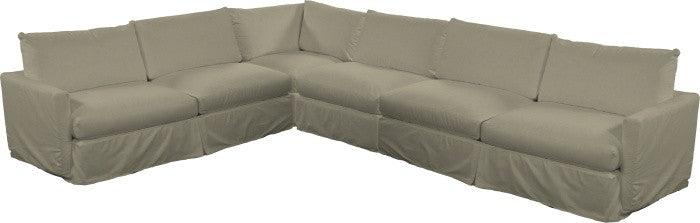 Urban Slipcovered Sectional II