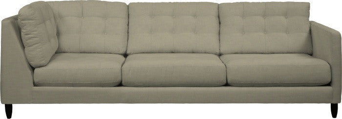 Gen X One Arm Corner Sofa - Right - Quick Ship