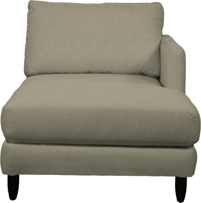 Gen Y One Arm Chaise Lounge - Right