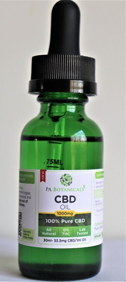 1000mg / 30ml CBD Oil