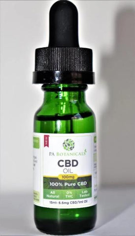 100mg / 15ml CBD Oil
