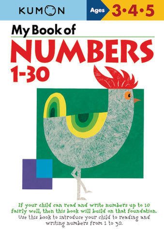 Kumon - My book of numbers 1-30