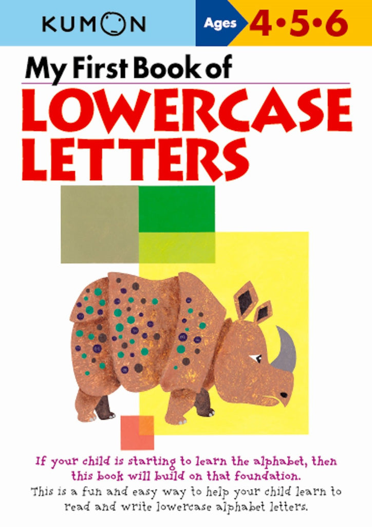 Kumon - My first Book of Lowercase Letters