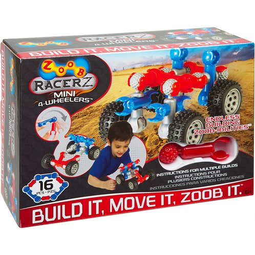Zoob Racer Z - 16 pieces
