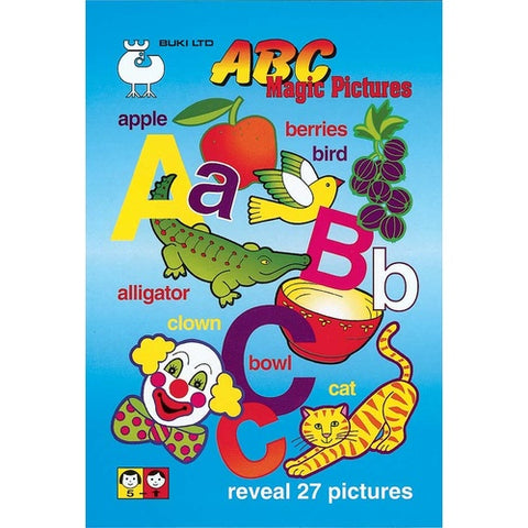 Buki - ABC Magic Pictures - Was $8.20 Now $4.10 -  Only 2 left