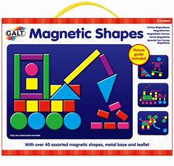Galt Magnetic Shapes Playboard