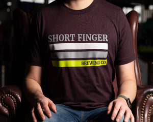 SFBC Three Stripe T-Shirt (Maroon)