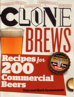 Clone Brew's 2nd Edition By Tess And Mark Szamatulski