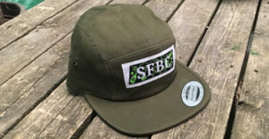 Olive Green 5-Panel Hat