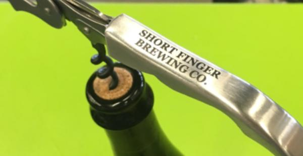 SFBC Corkscrew Bottle Opener