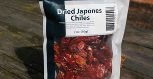 SFBC Dried Japones Chiles