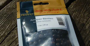 Short Finger Juniper Berries
