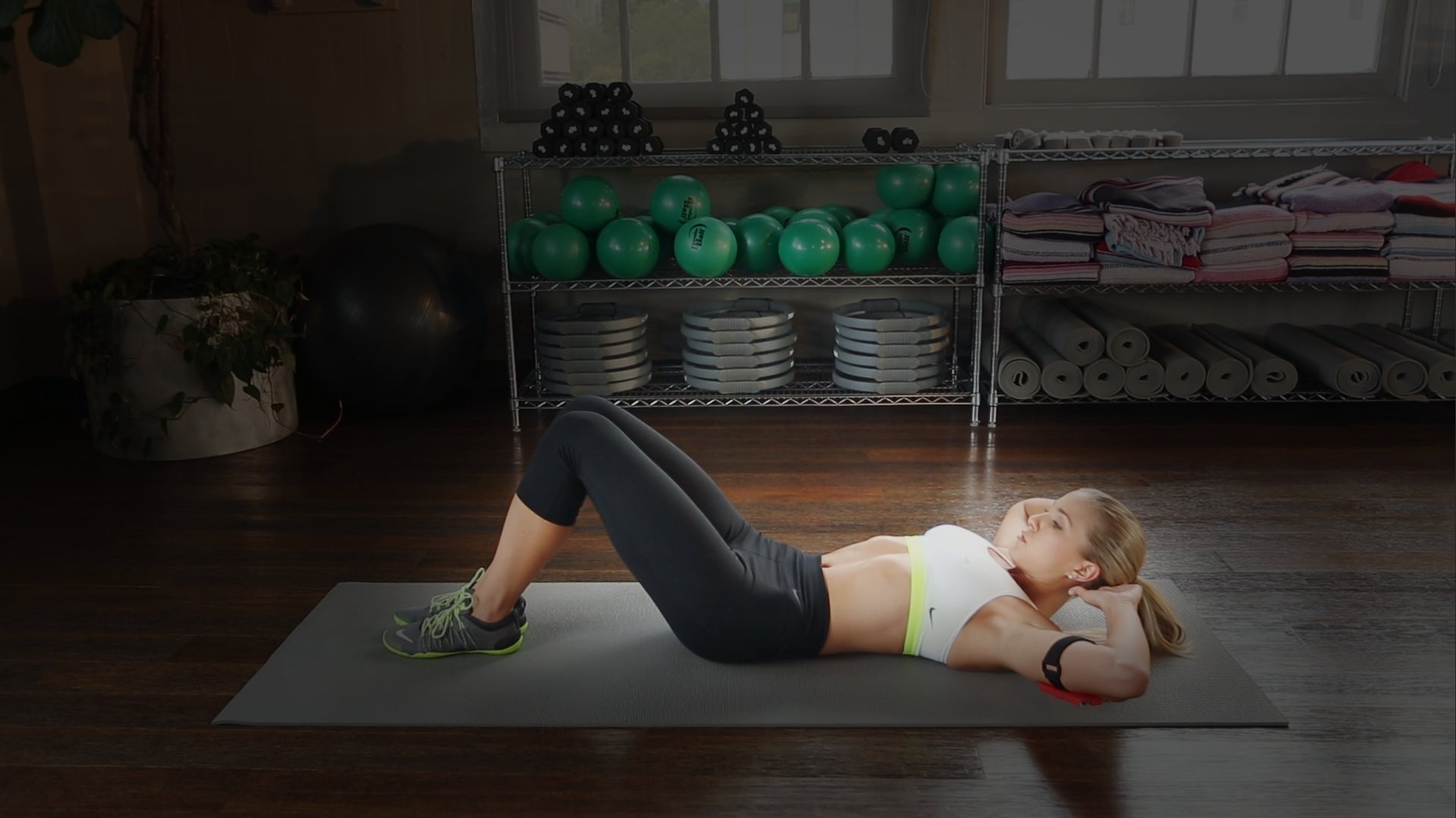 Sit Ups — Arms Behind Neck