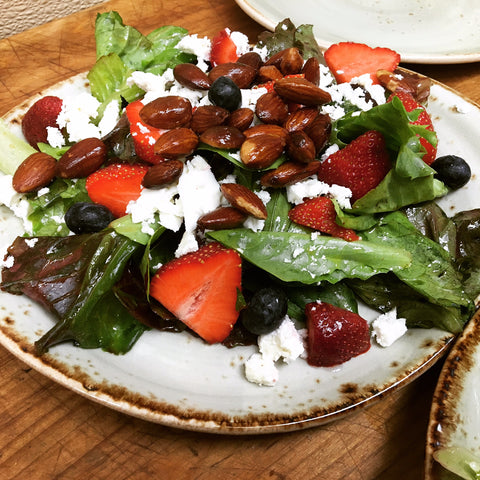 Friends Specialty at the Garden Cafe- seasonal berry salad