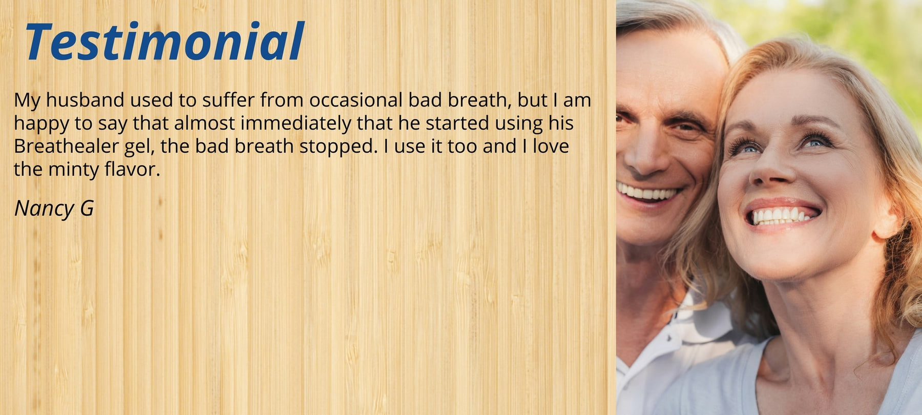 heal bad breath