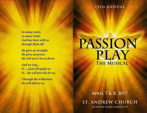 STA17 St. Andrew Passion Play 2017