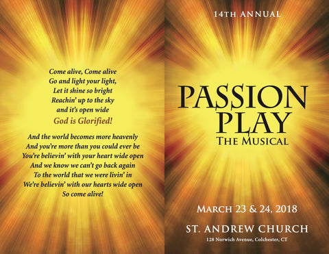 STA18 St. Andrew Passion Play 2018