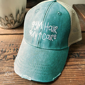 Gym Hair Don't Care - Hat