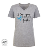 Love More Than Farts - Tee - Shirt