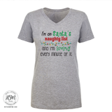 Santa's naughty list - Tee - Shirt