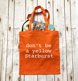 Yellow Starburst - Tote Bag