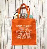 The Voices In My Head - Tote - Bag