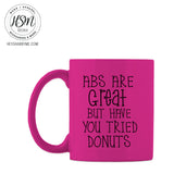 Abs vs. Donuts - Mug