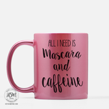 Mascara and Caffeine - Mug