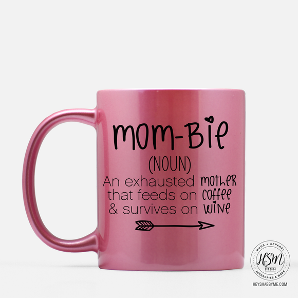 Mom-bie - Sparkle Color - Mug