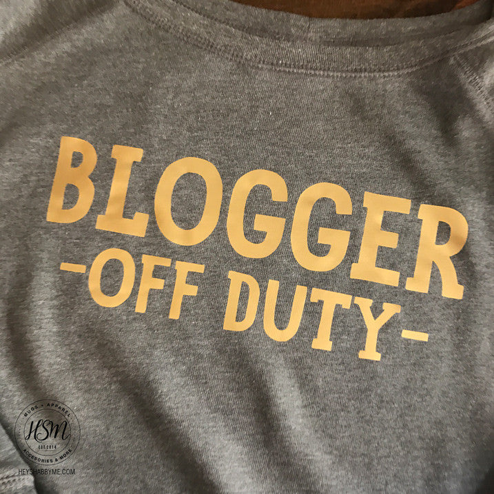 Blogger Off Duty
