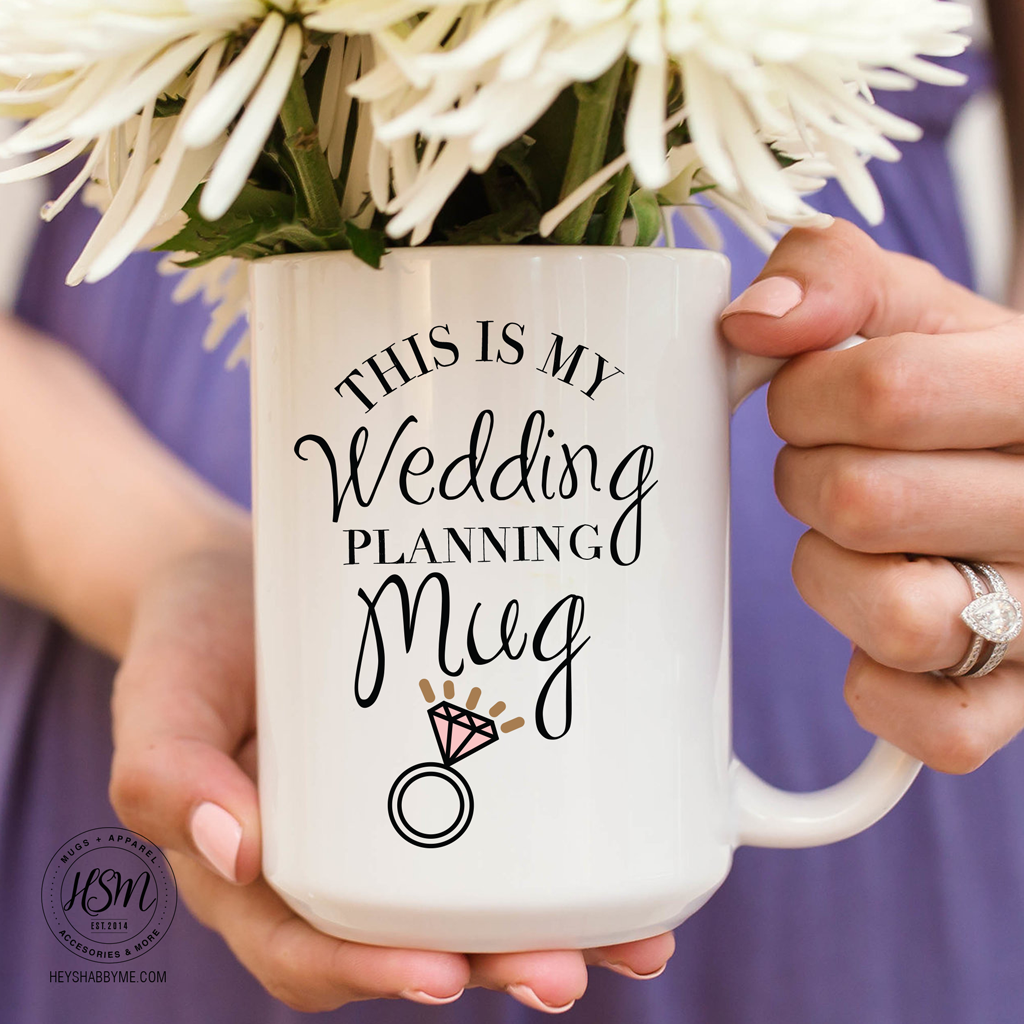 Wedding Planner Mug Hey Shabby Me