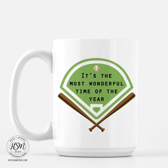 Baseball time of year - Mug