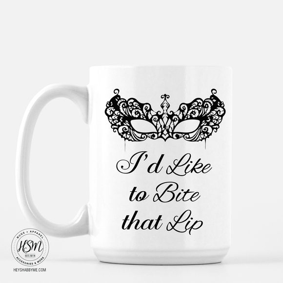 Bite that Lip - Mug