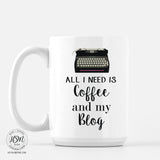 Coffee and Blog - Mug