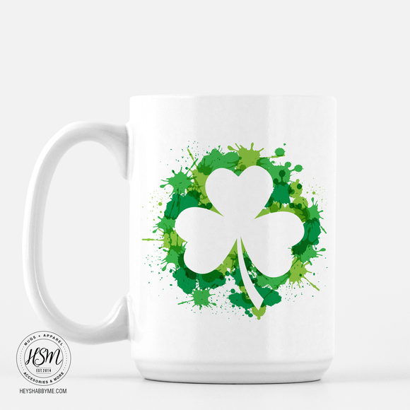 Clover Splash - Mug