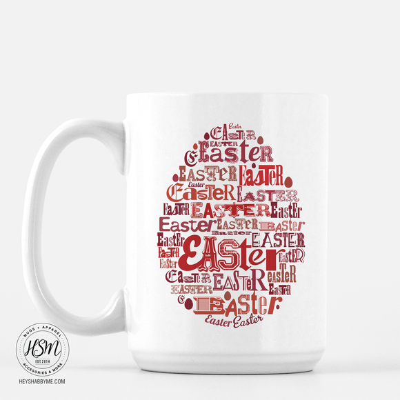 Easter Typography - Mug