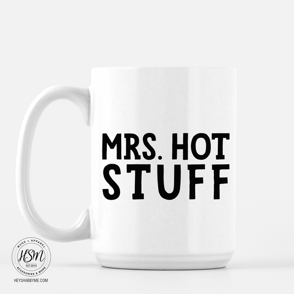 Mrs Hot Stuff - Mug
