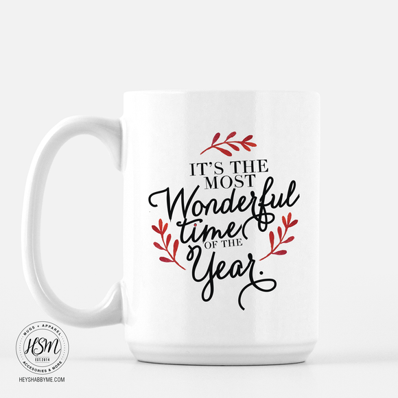 Most wonderful time of the year Mug