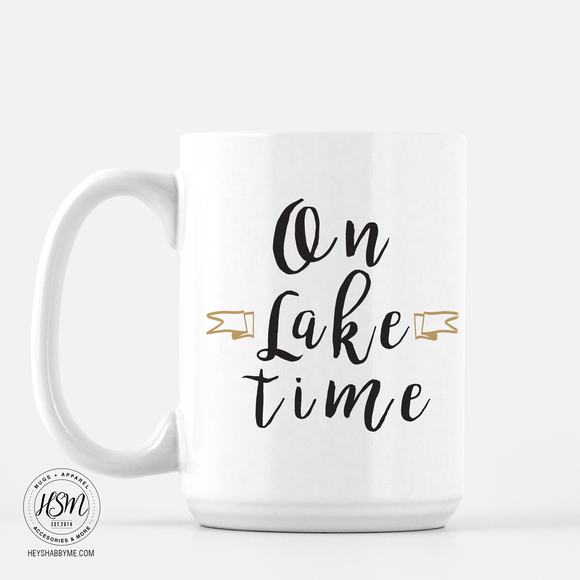 On Lake Time - Mug