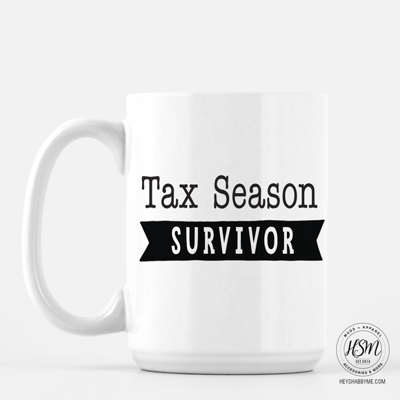 Surviving Taxes - Mug