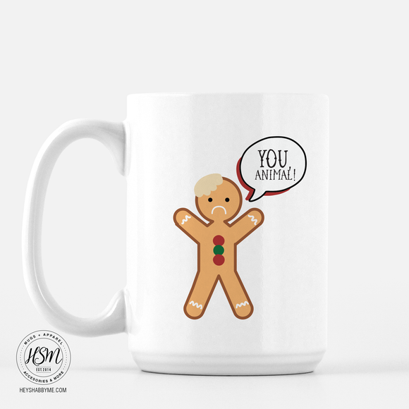 Gingerbread Man - Mug