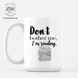 Focused on Reading - Mug
