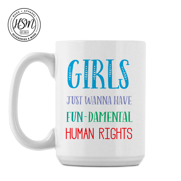 Have Fun-damental Rights - Mug