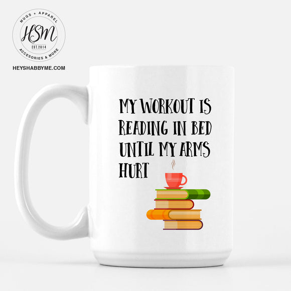 Reading Workout - Mug