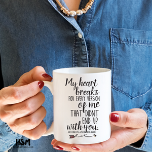 Heart Breaks - Mug