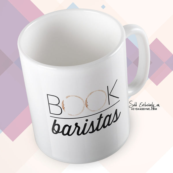 Book Baristas Coffee Stain Logo